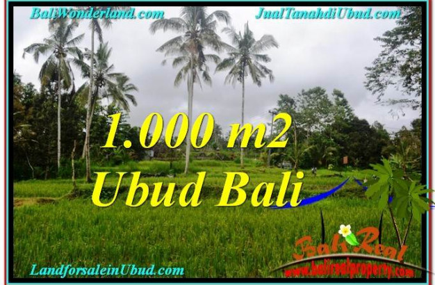 Exotic PROPERTY LAND IN UBUD FOR SALE TJUB570