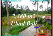 Magnificent PROPERTY 2,380 m2 LAND FOR SALE IN Ubud Payangan BALI TJUB567