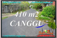 Beautiful PROPERTY 410 m2 LAND FOR SALE IN CANGGU BALI TJCG216