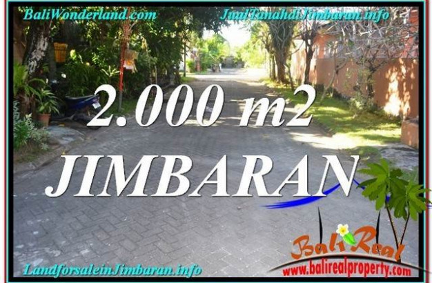 FOR SALE Exotic 2,000 m2 LAND IN Jimbaran Uluwatu  BALI TJJI115