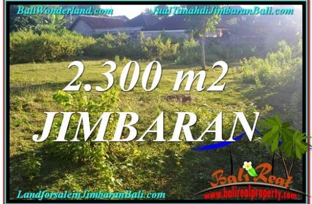 Beautiful PROPERTY 2,300 m2 LAND IN JIMBARAN BALI FOR SALE TJJI117