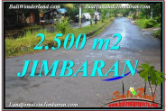 Exotic Jimbaran Ungasan 2,500 m2 LAND FOR SALE TJJI118