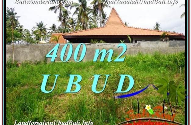 Magnificent PROPERTY Sentral Ubud 400 m2 LAND FOR SALE TJUB585