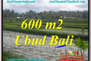 FOR SALE Beautiful 600 m2 LAND IN UBUD BALI TJUB607