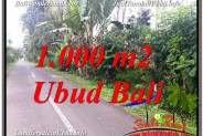Affordable PROPERTY UBUD BALI 1,000 m2 LAND FOR SALE TJUB614