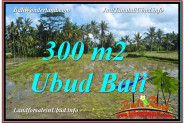 FOR SALE Exotic 300 m2 LAND IN UBUD BALI TJUB619