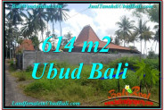 Beautiful UBUD BALI 614 m2 LAND FOR SALE TJUB622