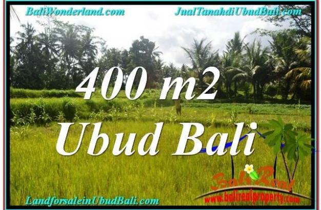 Exotic UBUD BALI 400 m2 LAND FOR SALE TJUB627