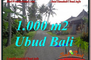 Affordable PROPERTY UBUD BALI 1,000 m2 LAND FOR SALE TJUB604