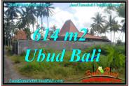 FOR SALE 614 m2 LAND IN UBUD TJUB622