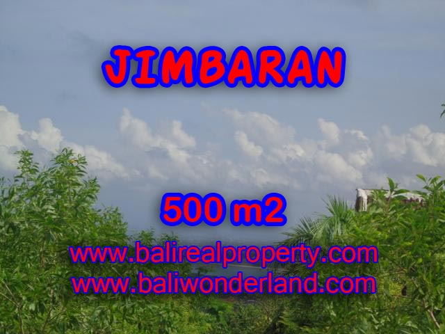 Land in Jimbaran Bali for sale, Magnificent view in Jimbaran Ungasan Bali – TJJI059