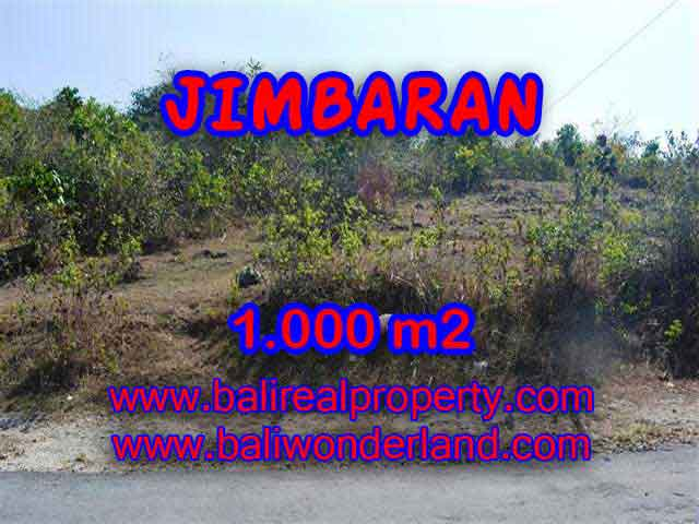 Magnificent Land for sale in Bali, villa and residential environment in Jimbaran Ungasan Bali – TJJI074