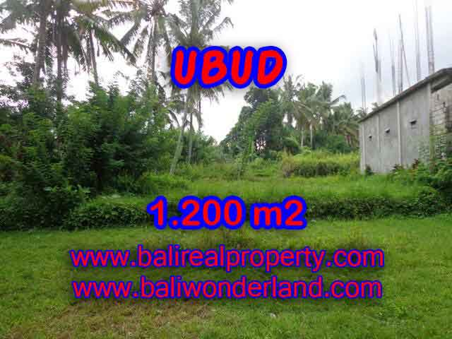 Land for sale in Bali, Outstanding property in Ubud Bali – 1.200 m2 @ $ 385
