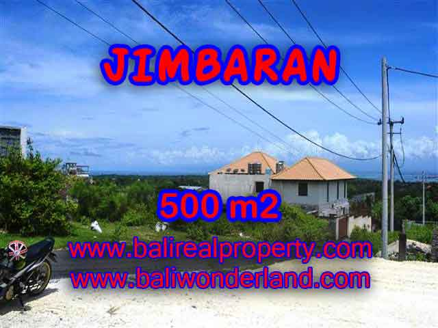 Land for sale in Jimbaran, Magnificent view in Jimbaran Ungasan Bali – TJJI066-x
