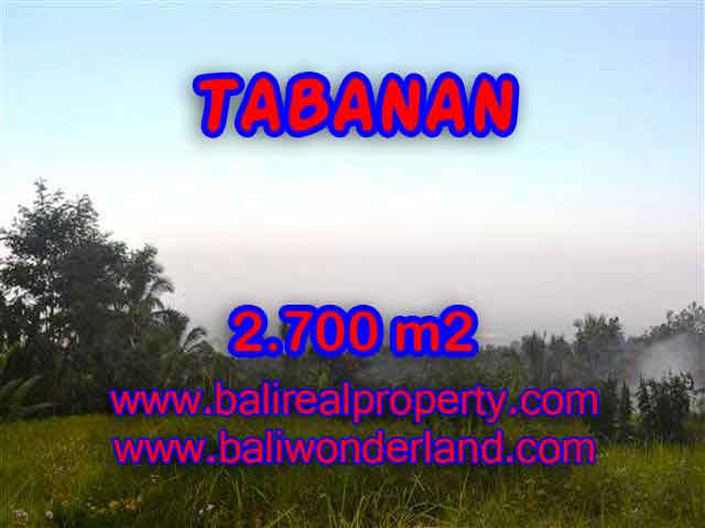 Property in Bali for sale, Astonishing land for sale in Tabanan Bali – TJTB128