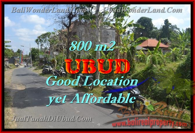 Land in Bali for sale, Stunning view in Ubud Bali – TJUB426