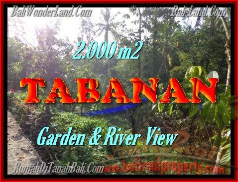 Land in Tabanan for sale, Amazing view in Tabanan Penebel Bali – TJTB149
