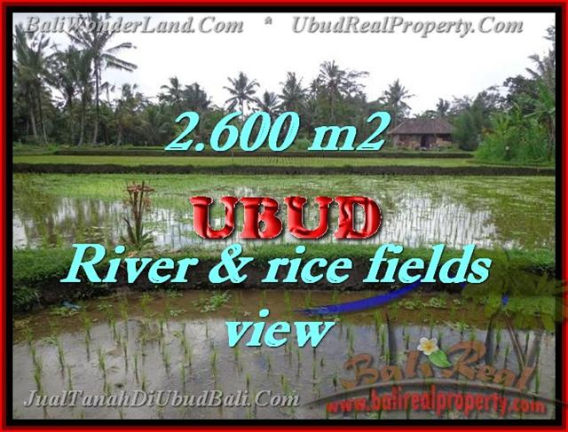 Land in Bali for sale, extraordinary view in Ubud Tegalalang – TJUB421