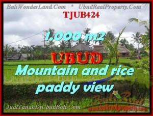 1,000 m2 LAND IN UBUD FOR SALE TJUB424