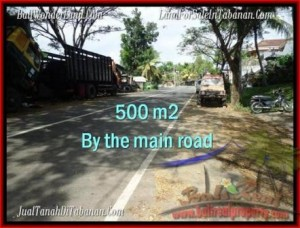 TABANAN 500 m2 LAND FOR SALE TJTB202