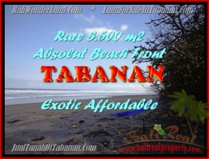 FOR SALE Beautiful LAND IN Tabanan Selemadeg BALI TJTB156