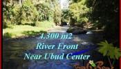 LAND SALE IN Sentral Ubud BALI TJUB499