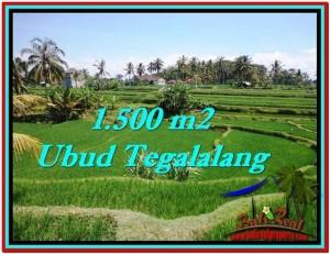 Affordable 1,500 m2 LAND FOR SALE IN UBUD BALI TJUB528