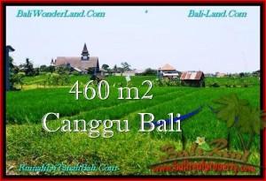 FOR SALE Affordable 460 m2 LAND IN Canggu Brawa BALI TJCG195