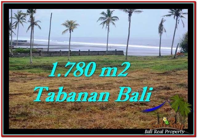 Beautiful 1,780 m2 LAND IN TABANAN BALI FOR SALE TJTB249