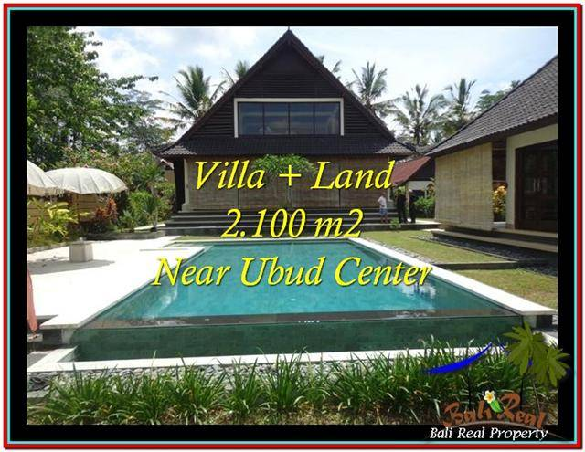 Exotic 2,190 m2 LAND IN UBUD BALI FOR SALE TJUB530