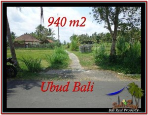 Magnificent UBUD BALI 940 m2 LAND FOR SALE TJUB531