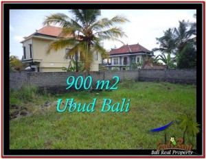 FOR SALE Magnificent 900 m2 LAND IN UBUD BALI TJUB532