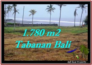 Magnificent 1,780 m2 LAND IN TABANAN BALI FOR SALE TJTB249