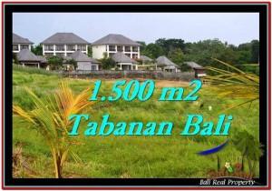 Affordable PROPERTY 1,500 m2 LAND SALE IN TABANAN BALI TJTB252