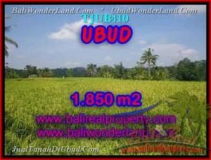 Affordable 1,850 m2 LAND SALE IN UBUD TJUB410