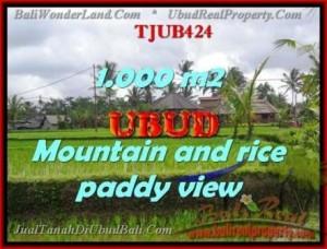Magnificent 1,000 m2 LAND SALE IN UBUD BALI TJUB424