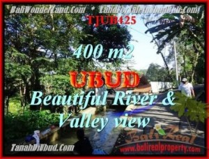 Exotic UBUD BALI 400 m2 LAND FOR SALE TJUB425