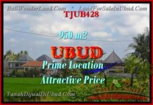 Affordable LAND SALE IN Sentral Ubud BALI TJUB428
