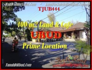 FOR SALE Affordable 400 m2 LAND IN UBUD TJUB444