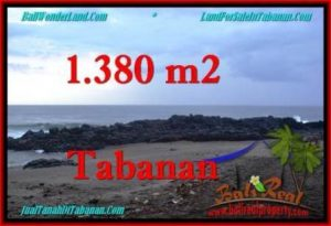 Beautiful TABANAN BALI 1,380 m2 LAND FOR SALE TJTB270