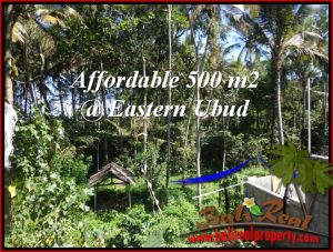 Affordable 500 m2 LAND SALE IN UBUD BALI TJUB515
