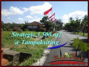 Exotic PROPERTY 3,500 m2 LAND SALE IN Ubud Tampak Siring TJUB517