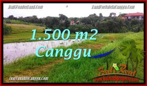 Exotic CANGGU 1,500 m2 LAND FOR SALE TJCG198