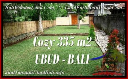 Magnificent PROPERTY 335 m2 LAND FOR SALE IN Ubud Tegalalang TJUB537