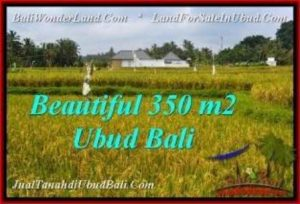 Magnificent 350 m2 LAND IN UBUD BALI FOR SALE TJUB540