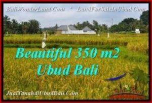Magnificent 350 m2 LAND IN UBUD BALI FOR SALE TJUB540