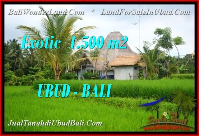 Affordable LAND FOR SALE IN UBUD TJUB541