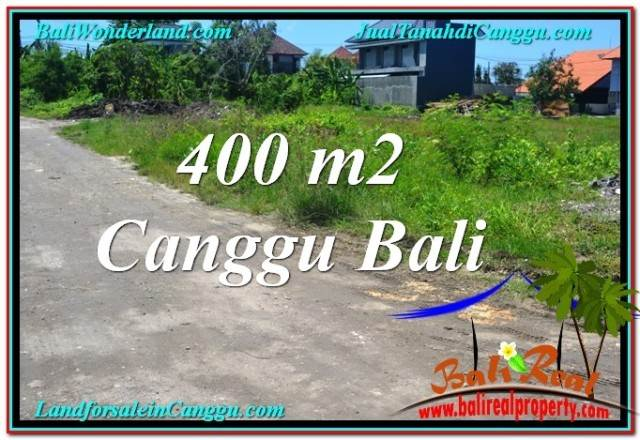 Magnificent 400 m2 LAND IN Canggu Brawa BALI FOR SALE TJCG202