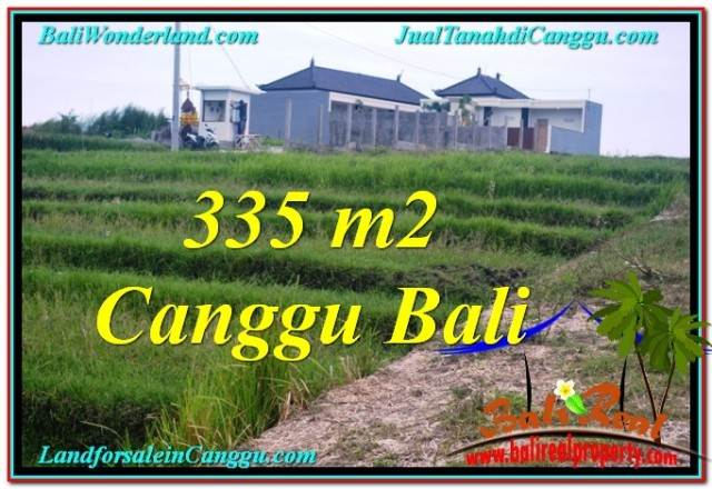 Magnificent PROPERTY 335 m2 LAND IN CANGGU BALI FOR SALE TJCG204