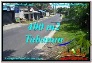 FOR SALE Affordable 400 m2 LAND IN TABANAN TJTB296